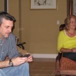 <em>Male Voice Talent Doug Turkel and Female Voice Talent Lisa Lupari</em>