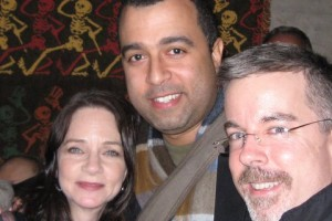 <em>Voice Talents Melissa Exelberth, Anthony Mendez and Peter K. O'Connell</em>