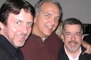 <em>The O'Boys with Courvo- THE Patrick O'Connor, Dave Courvoisier and Peter K. O'Connell</em>