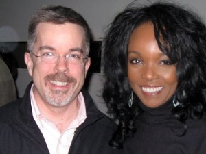 <em>Voice Talents Peter K. O'Connell and the great Bobbi Owens</em>