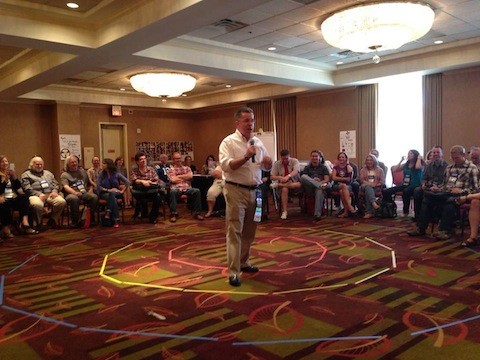 Peter K. O'Connell at FaffCon 6 _ photo by Heather Costa