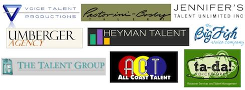 Talent Agent Logos-blog