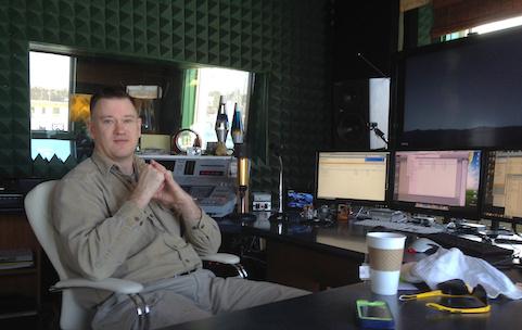 Carl Romey at The Bridge Recording Studio inGreen Bay, WI