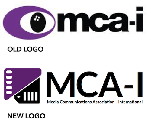 Media Communications Association-International has completely redone their association logo