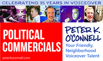 Peter K. O'Connell Political Commercial Voice Talent
