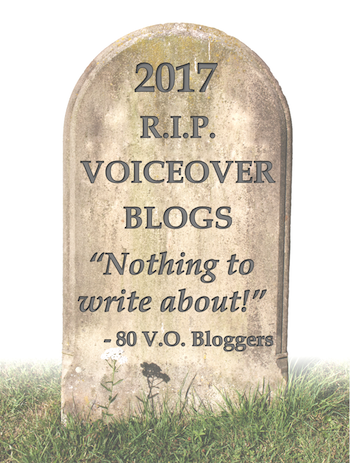 Death of the Voiceover Blog?