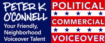 Peter K. O'Connell Political Commercial Voiceover